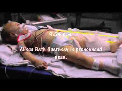 On March 28, 2009, 16-month-old Alissa Beth Guernsey was ...