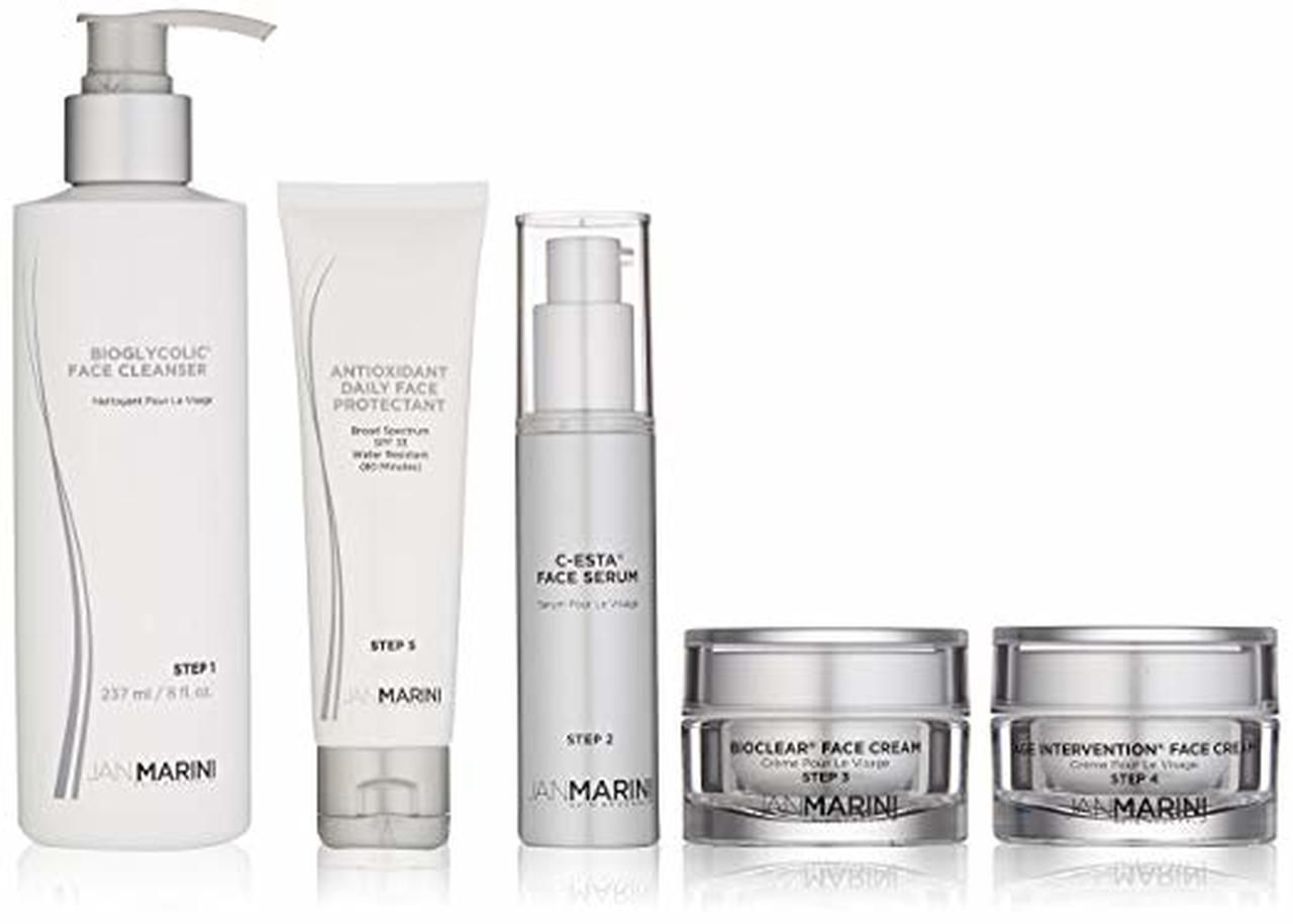 Jan Marini Dry Very Dry Skin Care Management System 5 Pcs Dry Skin Care Skin Care Combination Skin Care