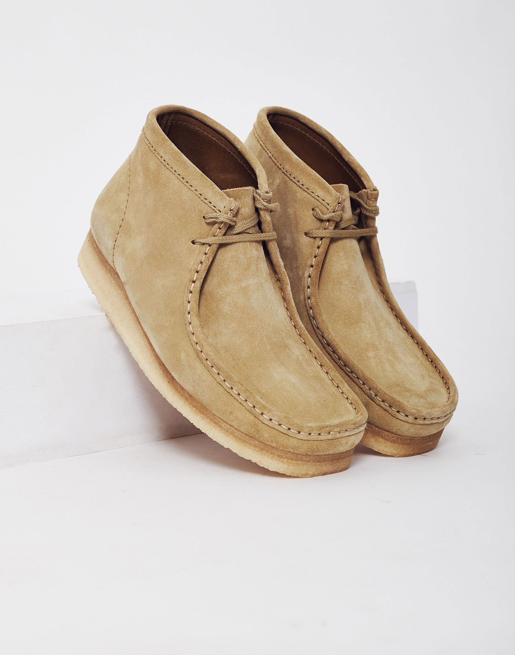 b8ced755d0169a Clarks Originals Suede Wallabee Boot Cream | Individual Style in ...