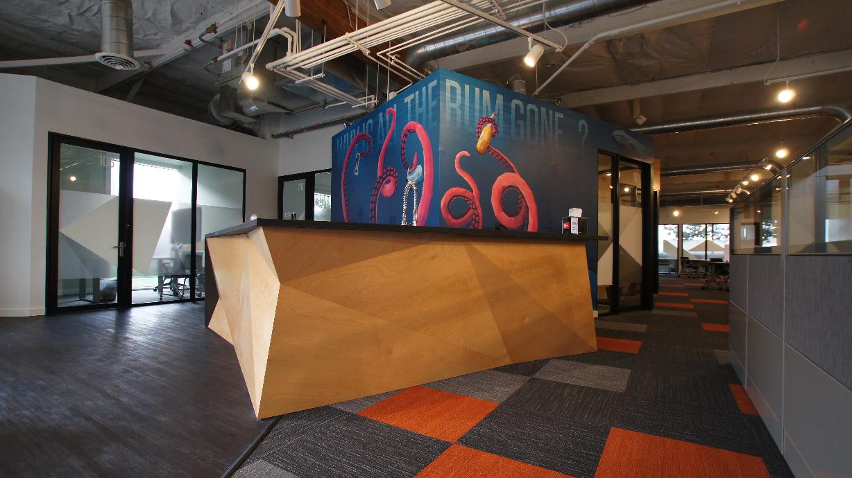 Orange Studios In Redmond Wa By Atelier Drome Architecture Commercial Design Design Drome