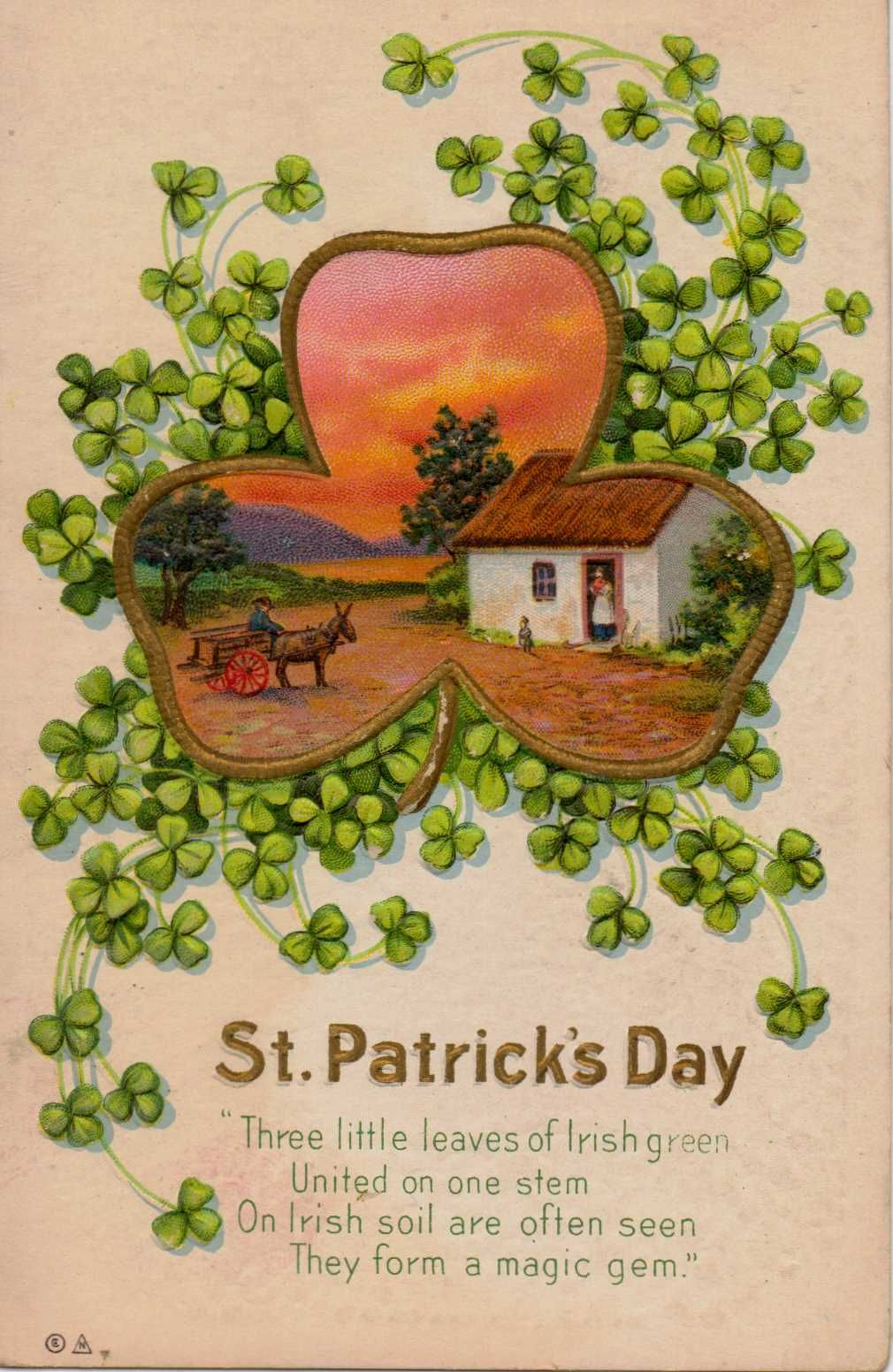 Vintage St. Patrick\'s Day postcard | Ireland | Pinterest | Cuadernos ...