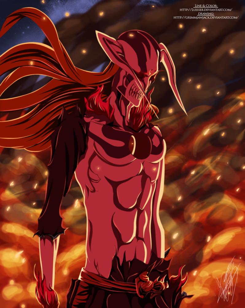 Ichigo Complete Hollowfication Bleach Anime Ichigo Bleach Anime Bleach Characters