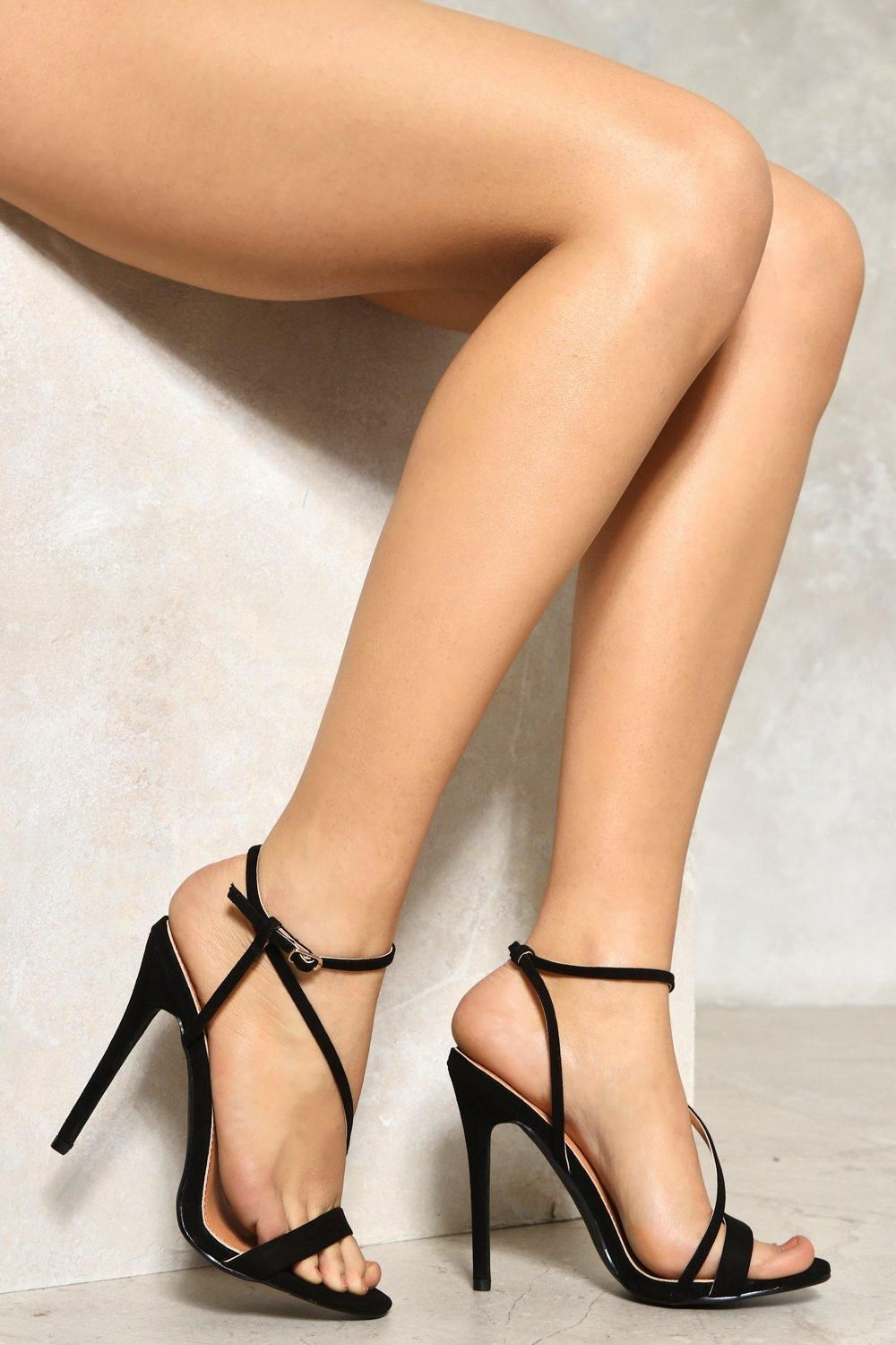 sex, meet city. the samantha heel features a strappy silhouette
