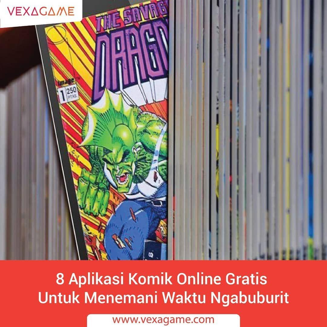 Nah Di Weekend Ini Mimin Bagikan Informasi Aplikasi Untuk Baca Komik Online Nih Sobat Vexa Apa Saja Ya Nama Aplikasinya In 2020 Comic Book Cover Comic Books Books