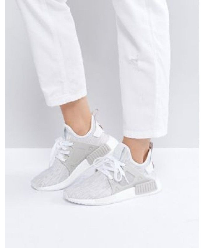 Cheap Adidas NMD Xr1 Beige Primeknit Trainers | Sneakers