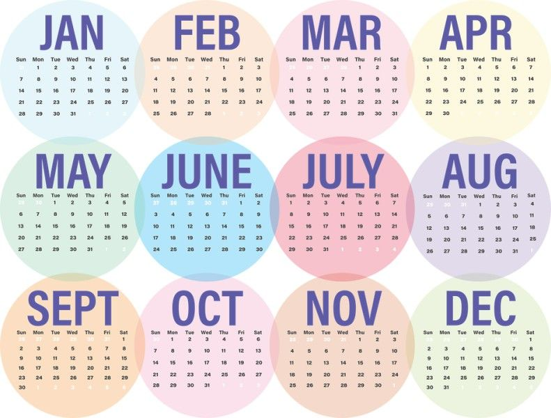 87+ Fascinating 2018 Printable Calendar Templates | Printable ...