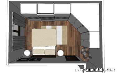 armadio camera da letto ad angolo ~ dragtime for . | Organize ...