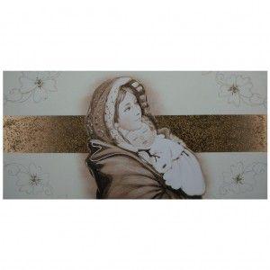 Capezzale camera da letto Ferruzzi con decoro fascia ...