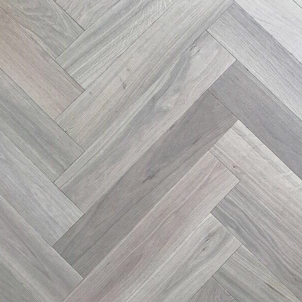 The Cool Grey And White Tones Of Our Lovely White Mist Parquet Wood