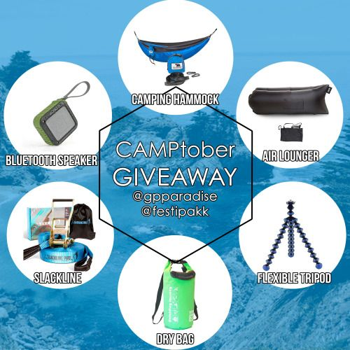 Camping Hammock  Speaker Giveaway (10/28){WW} via... IFTTT reddit giveaways freebies contests
