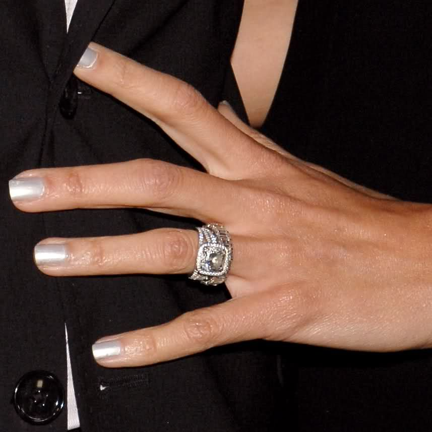 giuliana depandi engagment ring and wedding band celebrity - Giuliana Rancic Wedding Ring