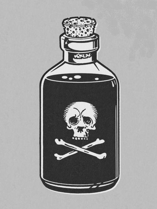 Poison Bottle | Skulls | Pinterest | Artist, Tattoo and Bottle