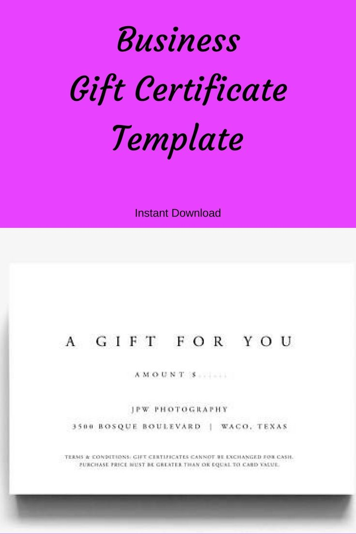 Printable Gift Vouchers Template Gift Certificate Template A Gift For You Gift Voucher Template .