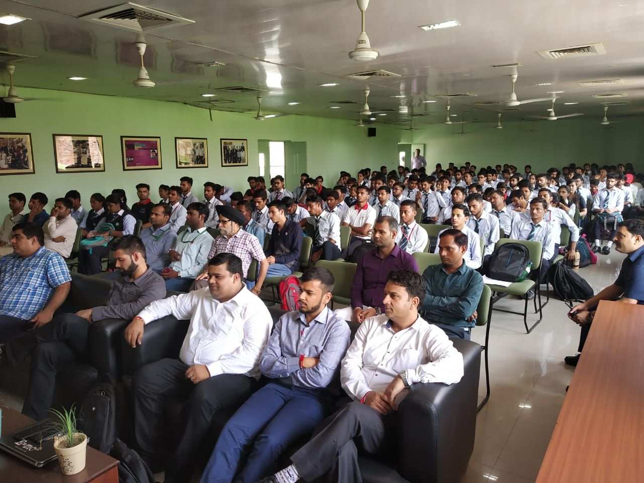One day Skill Development and Road Safety Awareness