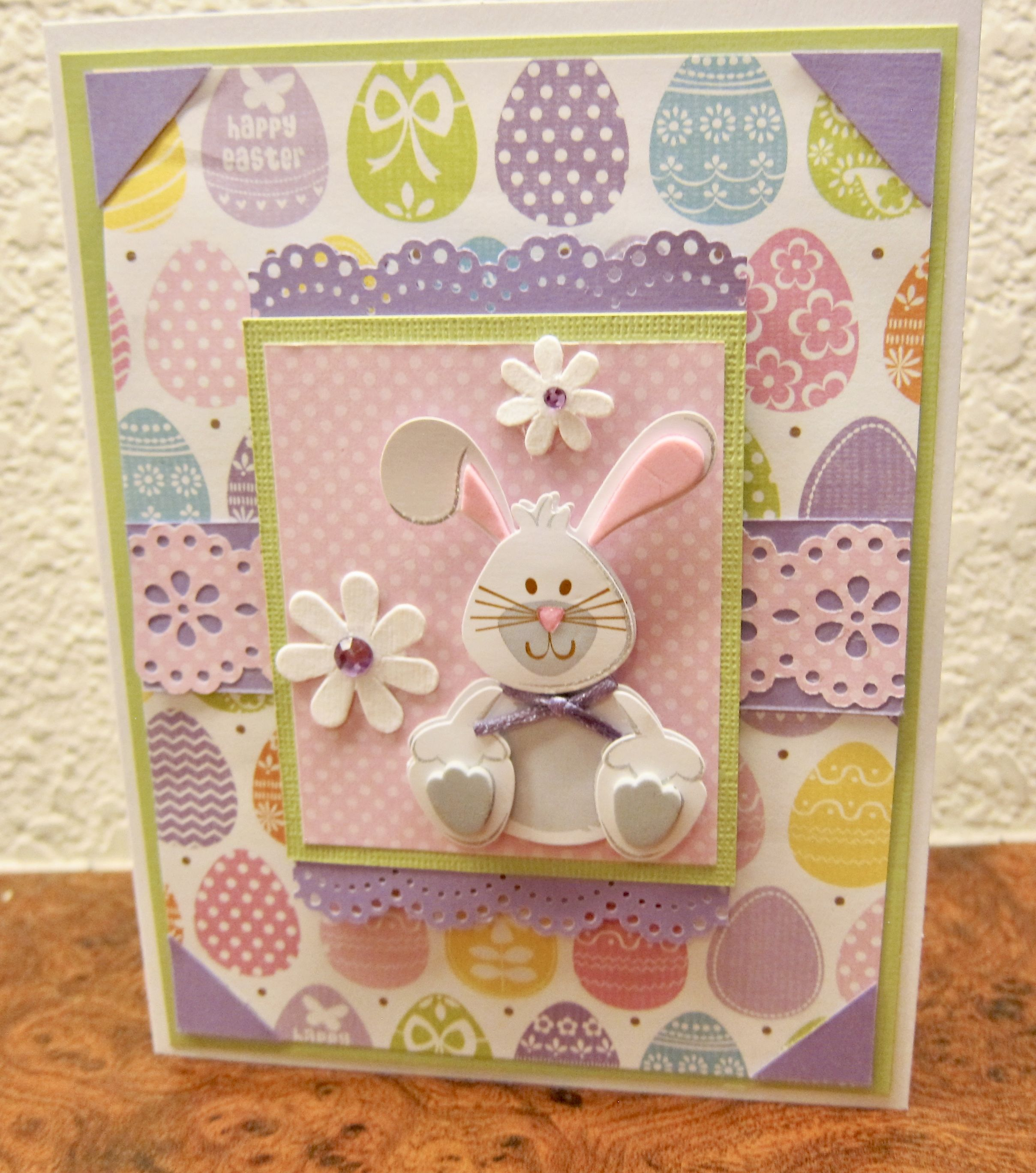 Scrapbook ideas for elderly - Easter Card 2 Scrapbook Com