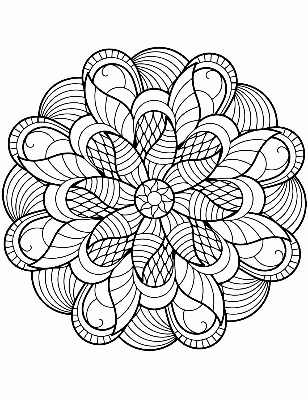 Flowers Mandala Coloring Pages In 2020 Mandala Coloring Books