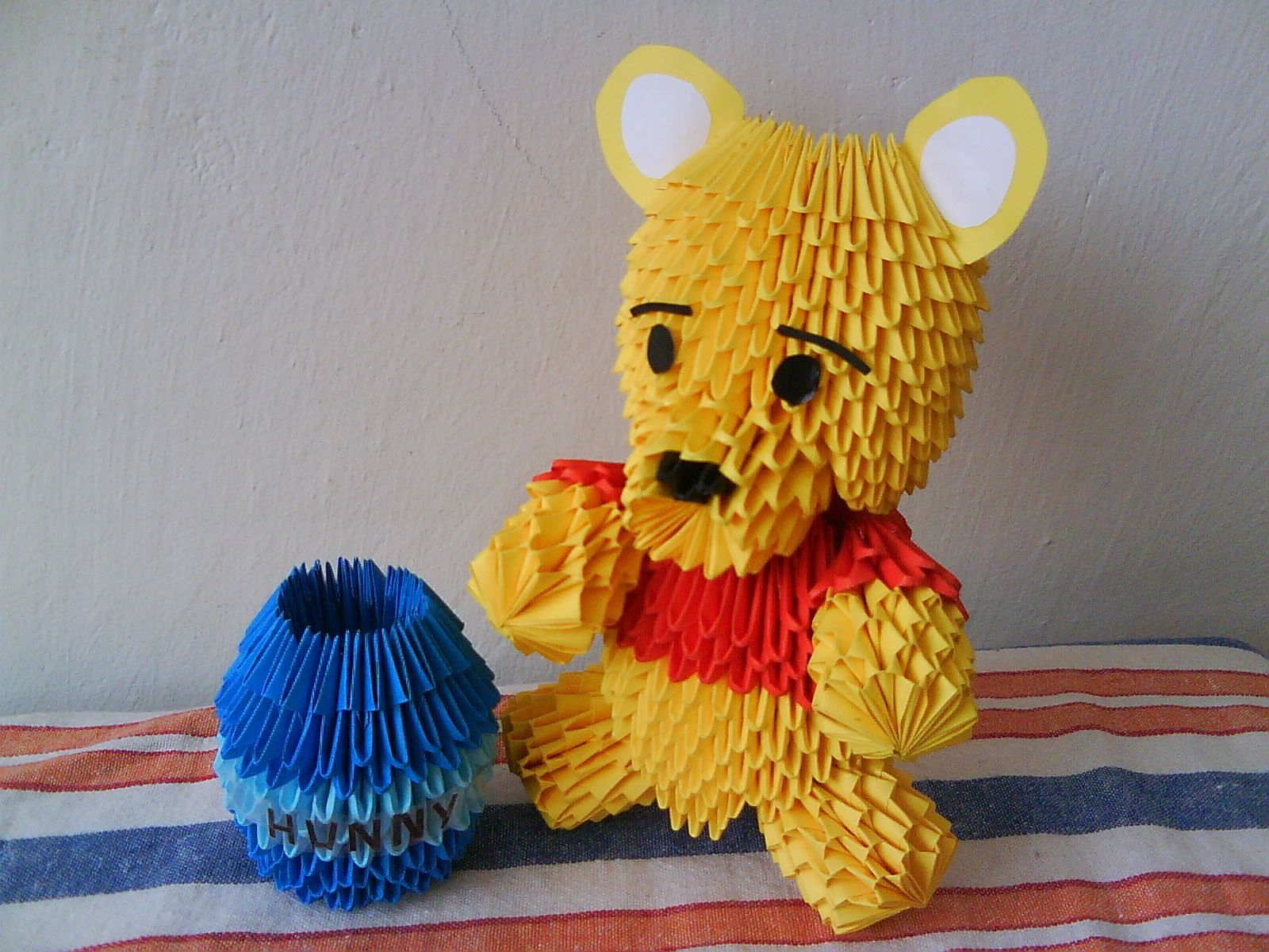 3dorigami winnie the pooh by integrall 3d origami 3d 3dorigami winnie the pooh by integrall 3d origami 3d origami art jeuxipadfo Images