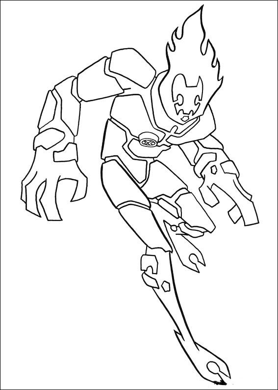 Dibujos Para Colorear Ben 10 23 Coloring Books Cartoon Coloring Pages Coloring Pages For Kids