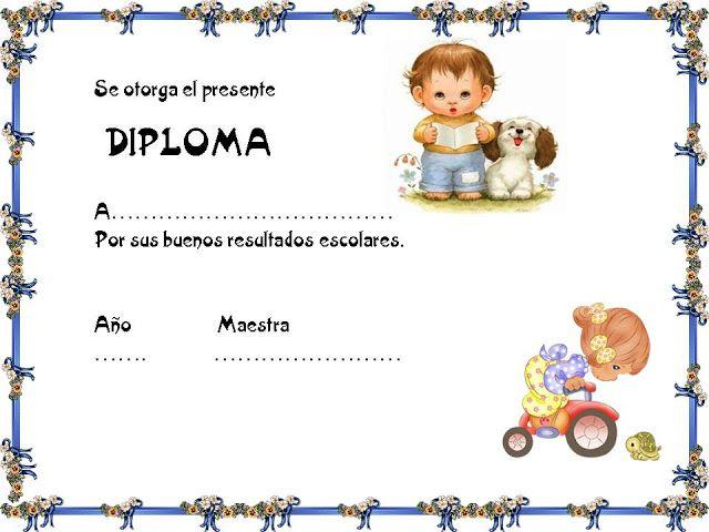 marcos para diplomas infantiles - Funfpandroid