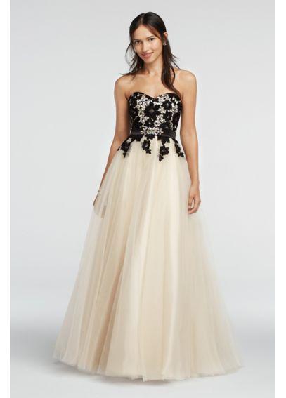 Prom dresses black currant
