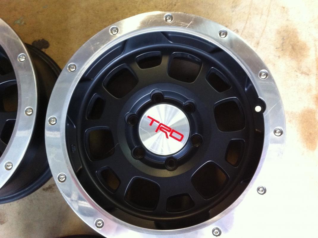 5e8781d9f3d Toyota Tacoma TRD Black Beadlock Rims Find the Classic Rims of Your Dreams  - www.allcarwheels.com