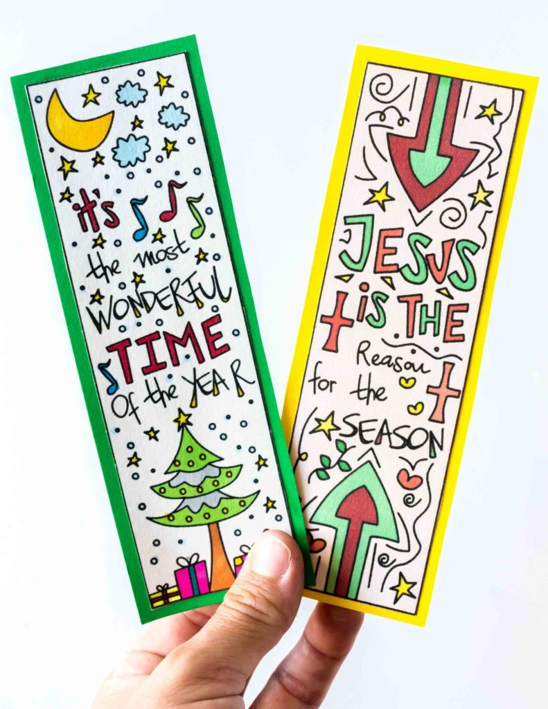 Coloring Christmas Bookmarks Free Printable Christmas Bookmarks Coloring Bookmarks Free Free Christmas Crafts