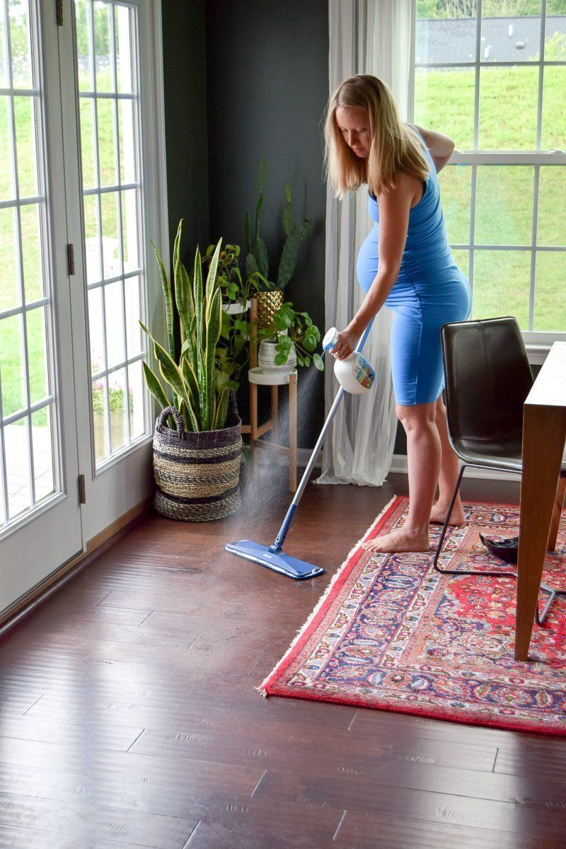 what is the best way to clean hardwood floors naturally
