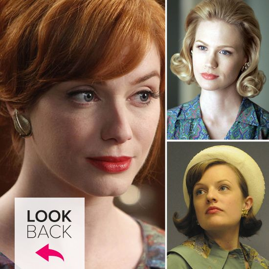 Joan, Peggy, Betty, and Megan! A look back at how the ladies of #MadMen have changed over the years.