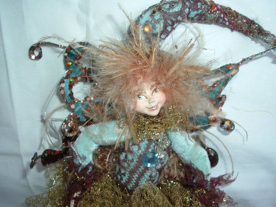 Vintage Fairy Spirit Pixie Doll Bright by OldSoulsEmporium on Etsy, $15.00