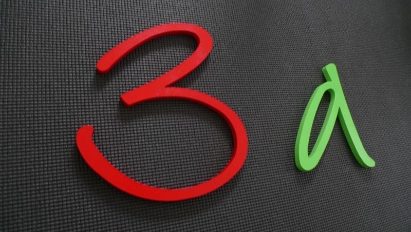Holzbuchstaben ★ Hausnummer DIY ★ Kreativ-Set von PAULSBECK Buchstaben, Dekoration & Geschenke auf DaWanda.com