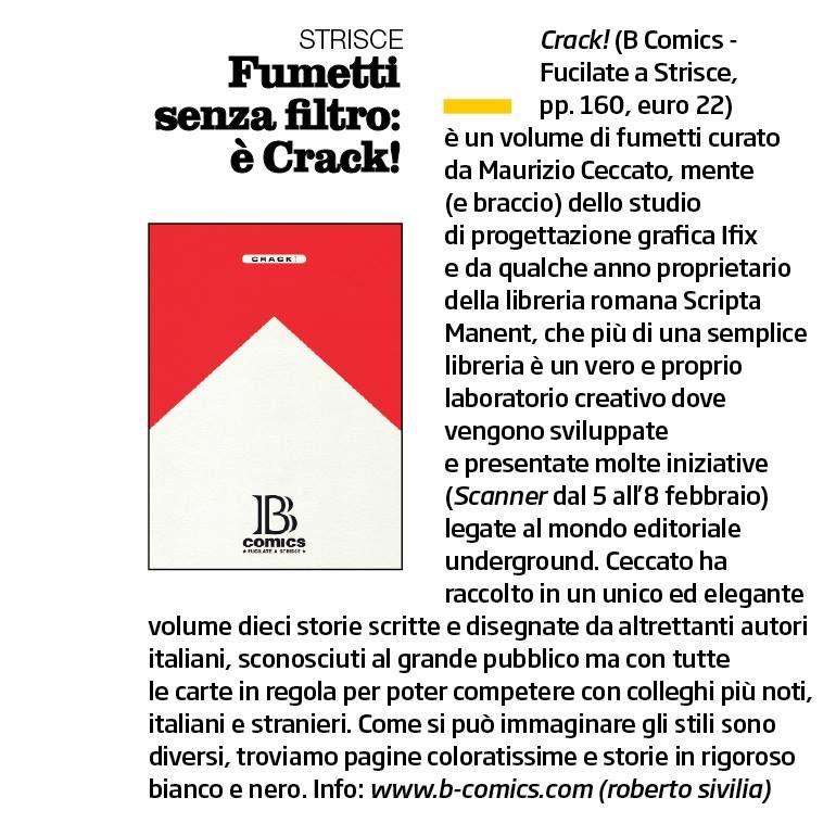 «Il Venerdì - La Repubblica». —Roberto Sivilia.