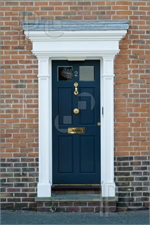 Georgian Front Door Idea Set The Door Slightly Within
