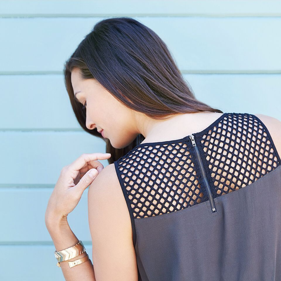 The summer mesh trend: a hot way to stay cool. #trendalert #dontmeshwithus