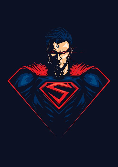 8aa50556527f DC Superheroes Series on Behance