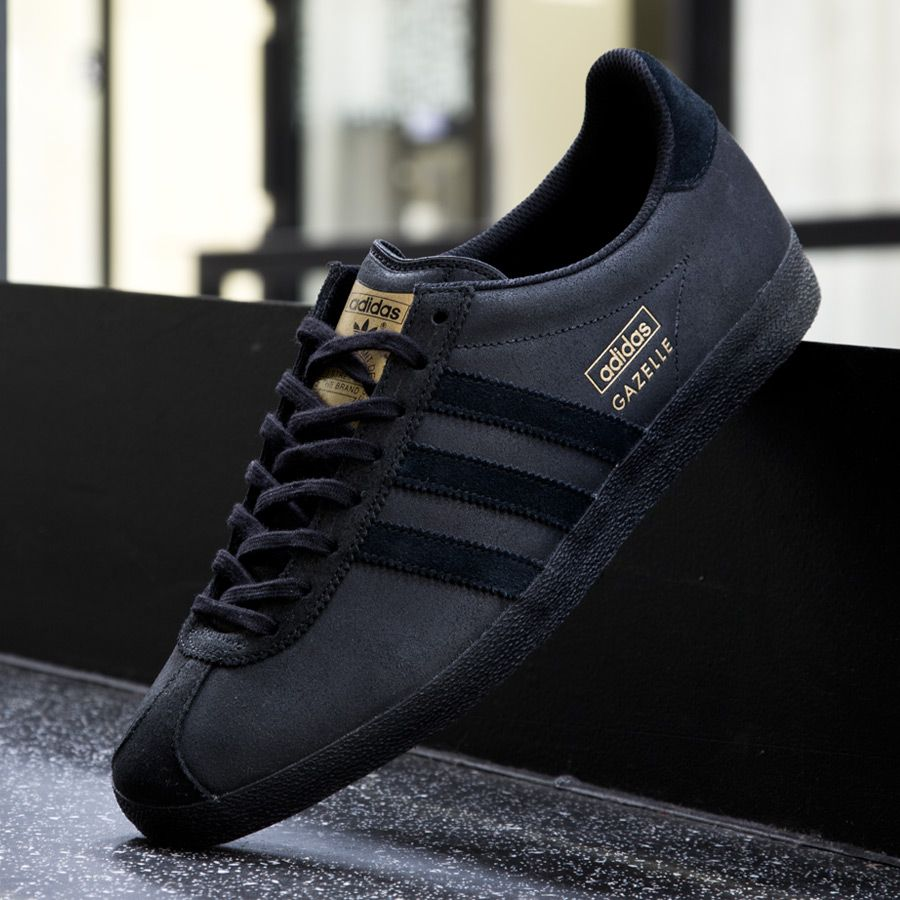 adidas gazelle og all black