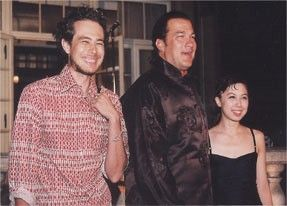 steven seagal and son and daughter d steven seagal steven