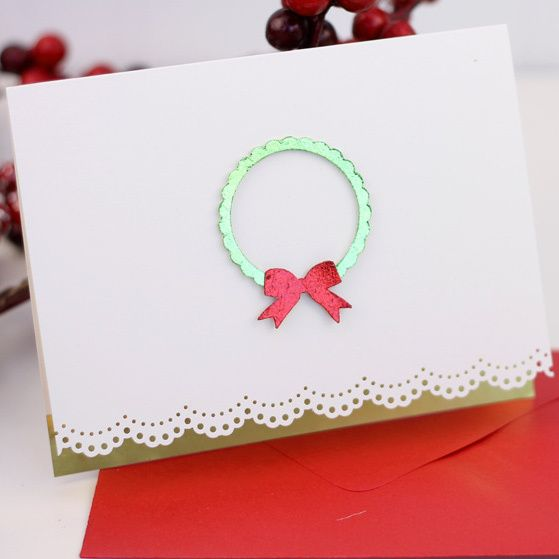 Charming Simple Card Making Ideas Free Part - 7: 18 Free Printable Christmas Cards And Homemade Christmas Card Ideas Free  EBook