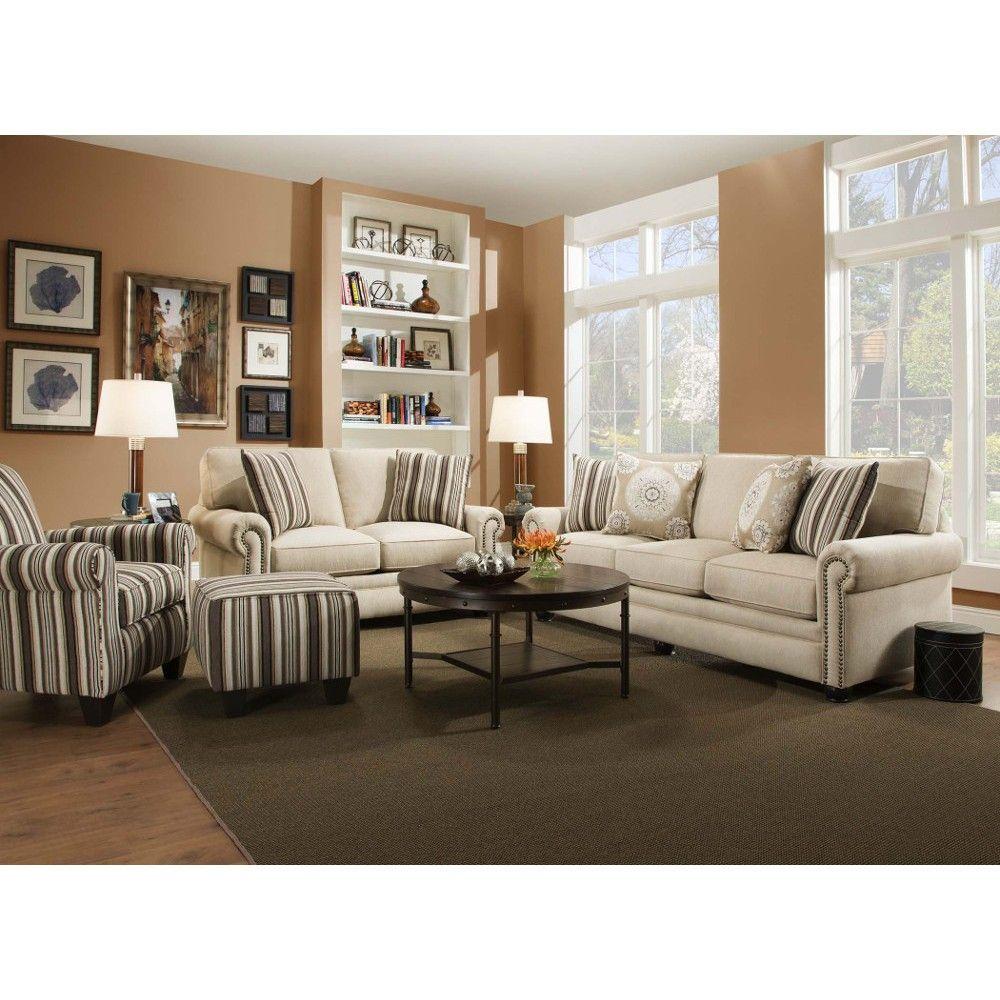 Best Swan Living Room Sofa Loveseat Sand 97A Conn S 640 x 480