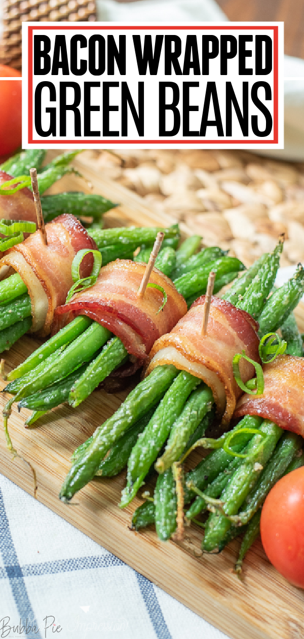 BACON WRAPPED GREEN BEANS -   19 thanksgiving sides recipes green beans ideas