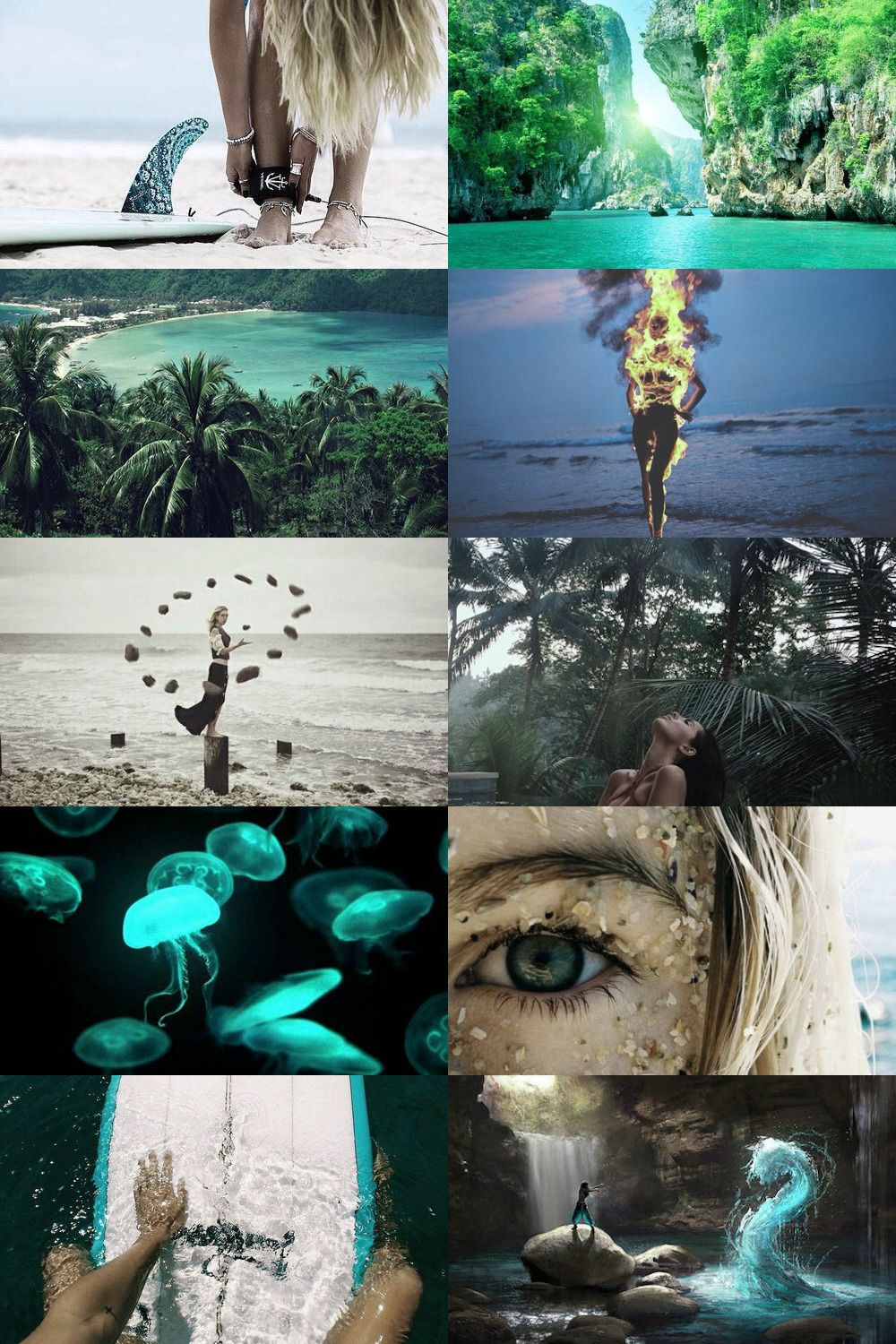 Tropical Witch Aesthetic More Here Billeder Collage