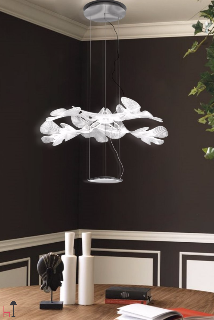 chlorophilia pendant by artemide is the perfect suspension. Black Bedroom Furniture Sets. Home Design Ideas