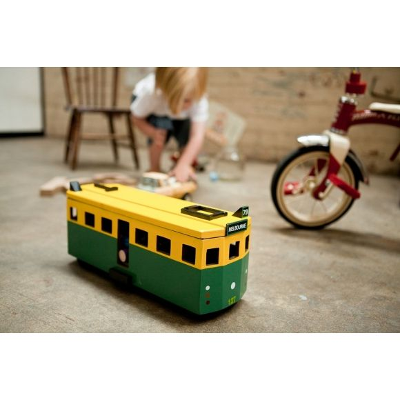 Iconic Toy Tram Melbourne Tram Melbourne Wooden Toys