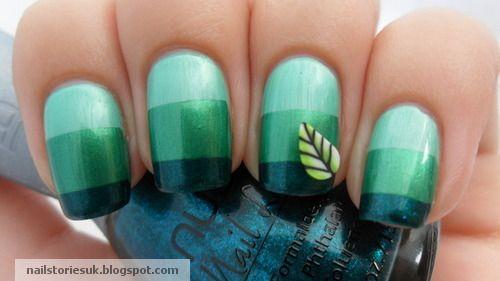 #NailArt Love the colour choice!