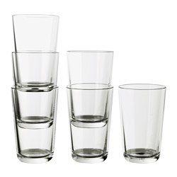 Glas, vinglas, kander og karafler - Stort udvalg af drikkeglas