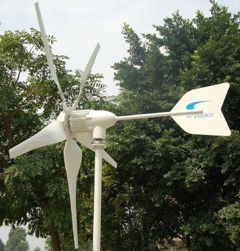 Windmax Hy1000 5 1 000 Watt Max 24 Volt 5 Blade Residential Wind Generator Kit 2012 Survival Gear Home Wind Turbine Wind Generator Home Wind Generator