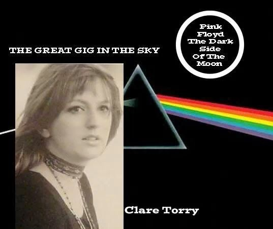 Have always wondered who was the girl wailing in the Pink Floyd song ' great gig in the sky' on the album, 'Dark side of the moon' .  Check it out you know the song,....Name is Clare Torry and she came in to the studio on a sunday afternoon, never heard the song before ,nailed it in a few takes and got paid 60 Quid. Needless to say she sued Pink Floyd in later years when it became one of timeless classics on the Dark side of the Moon album