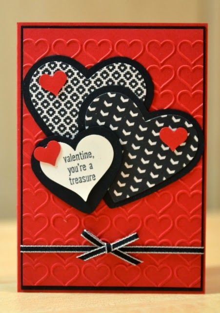 Janb Handmade Cards Atelier Valentine Card Video Stacked With