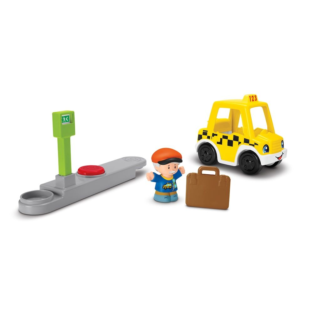 Little people car toys  FisherPrice Little People Small Taxi  Pinterest  Fisher price