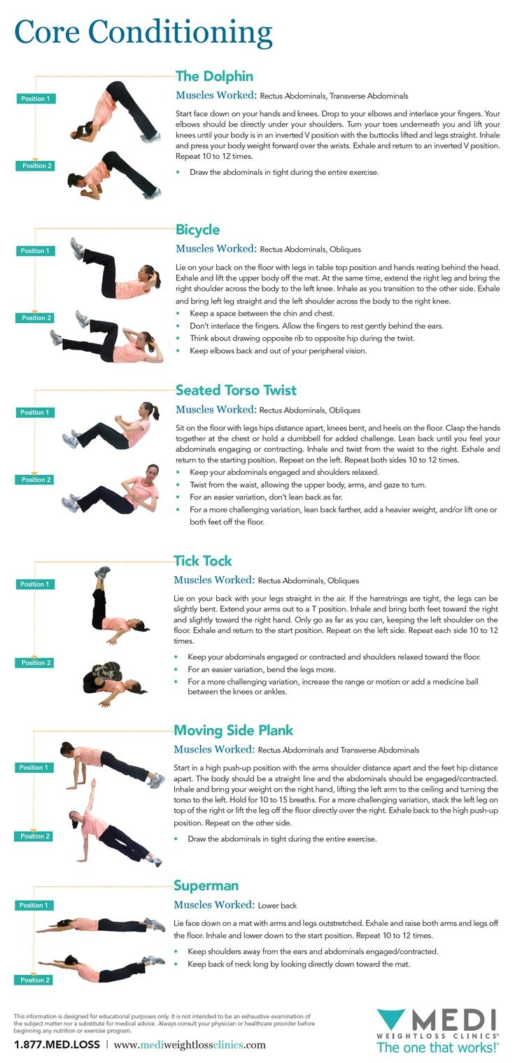Core Exercises 187 Health And Fitness Training I Be