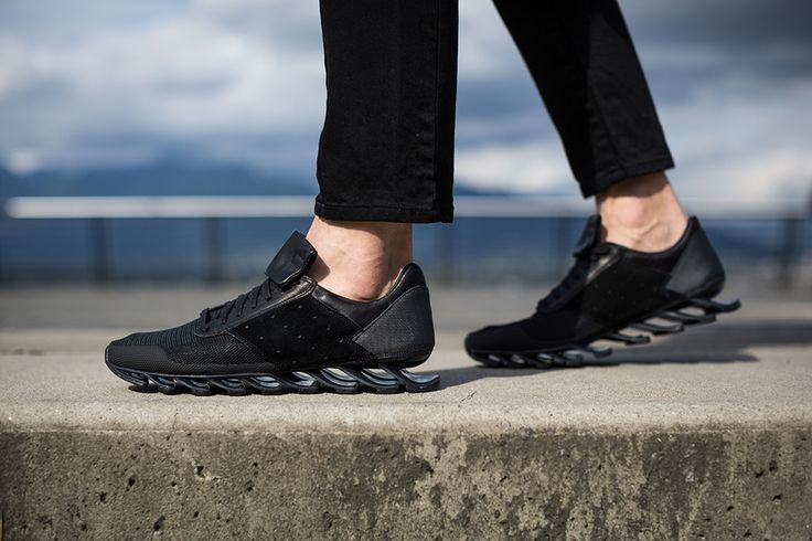 new style 0370c 37aed Rick Owens x adidas Springblade: Black   Parth   Sneakers ...